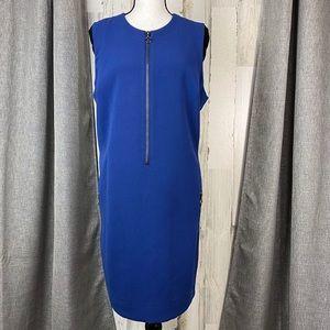 RACHEL Rachel Roy Zip Front Sleeveless Dress 1X